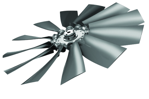 Multi-Wing Impeller For Evap